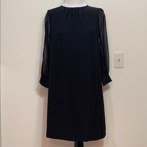 NWT Kate Spade black shift dress